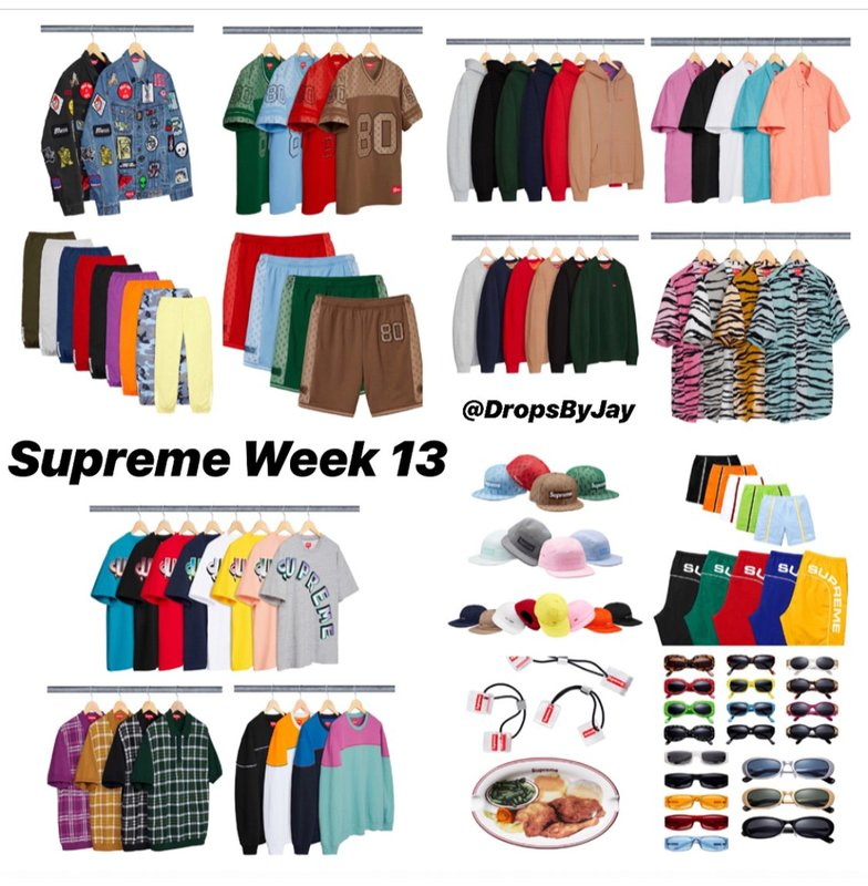 Supreme Bot Keywords 05/17/2018
